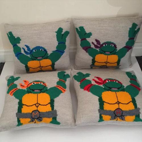 Turtle cushions